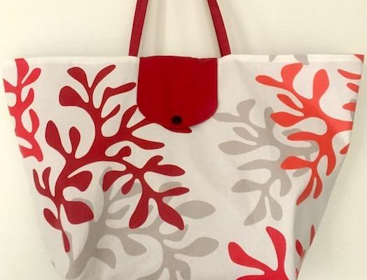 Aiguille en fête 2017 inspiration couture blouse tuto gratuit sac de plage coton enduit