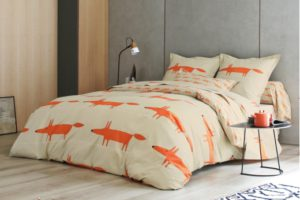 linge-de-lit-mr-fox-mandarine-scion-living