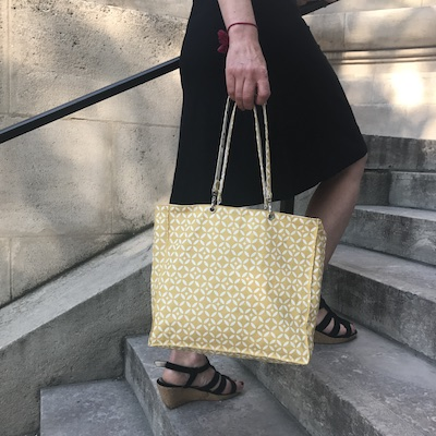 Tuto couture gratuit sac a main toile enduite - Couture sac a main ...
