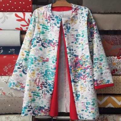 Ciré en coton enduit Fleur de Soleil et Les Bobines Patterns